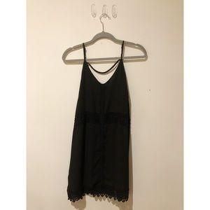 ASTR Black Mini Dress